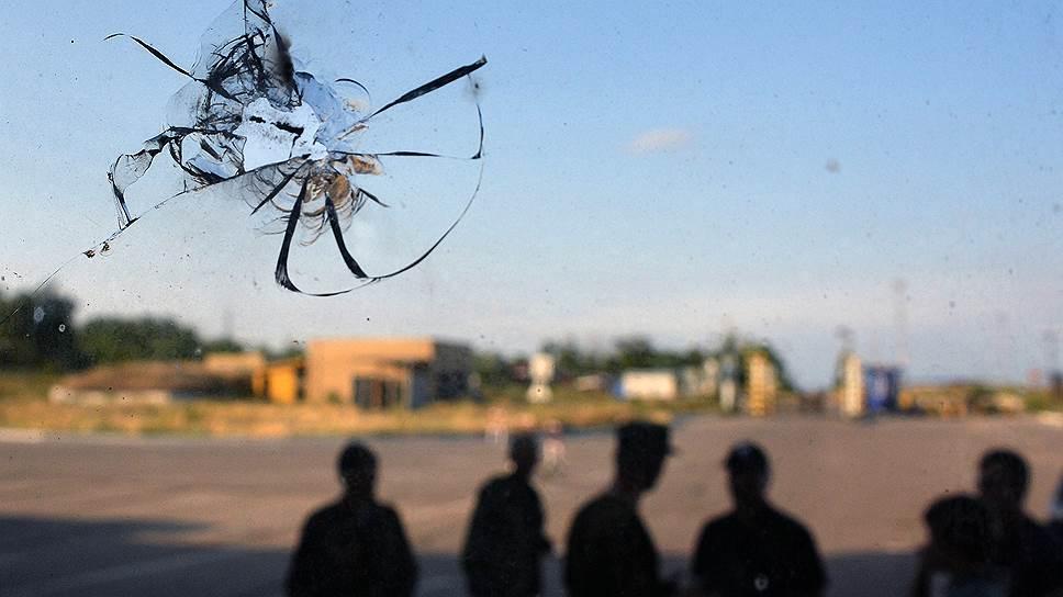 Как российских пограничников обстреляли из Украины