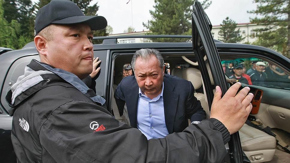 Бывший президент Киргизии Курманбек Бакиев