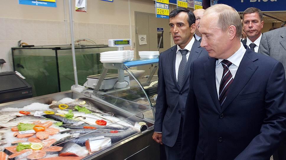 Президент Владимир Путин переводит российские прилавки на осадное положение