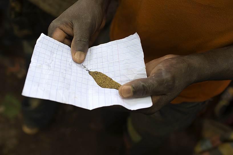 Добыча золота в ЦАР началась в 1930 году и достигла максимального объема в годы Второй мировой войны