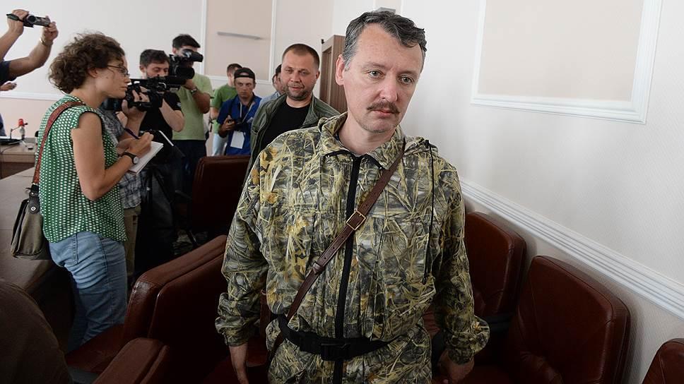 Почему министр обороны ДНР Игорь Стрелков ушел в отставку
