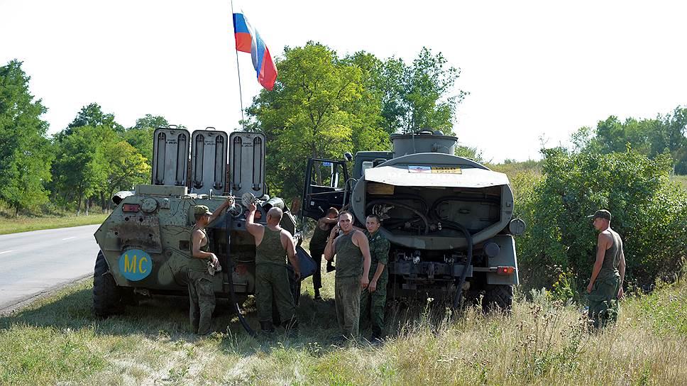 Как западные СМИ сообщили о перебросе российских БТР на Украину