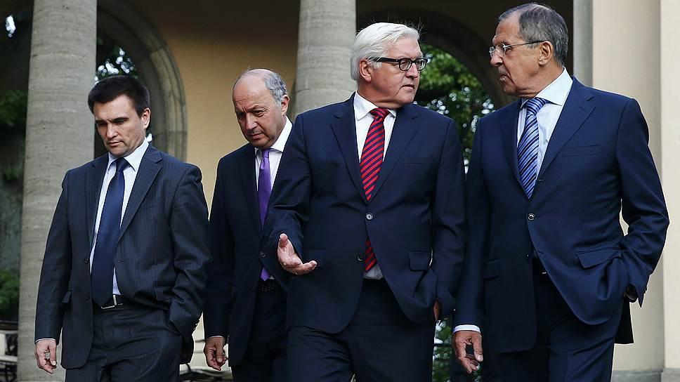 Как договорилась до прогресса «берлинская четверка»
