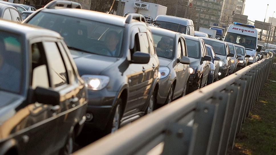 Как водителям дадут десять дней подготовиться к пробкам