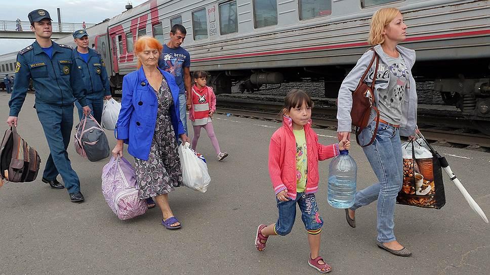Как Крым освобождают от беженцев
