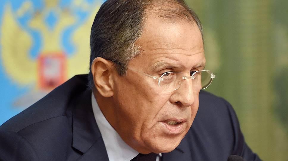 Сергей Лавров: отказ Украины от внеблоковости подорвет урегулирование