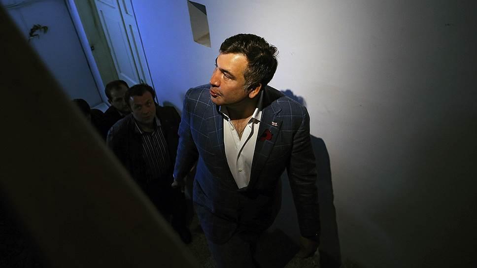 Как Михаил Саакашвили едва избежал ареста