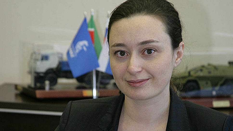 Заместитель генерального директора ОАО «КАМАЗ» – финансовый директор Елена Милинова