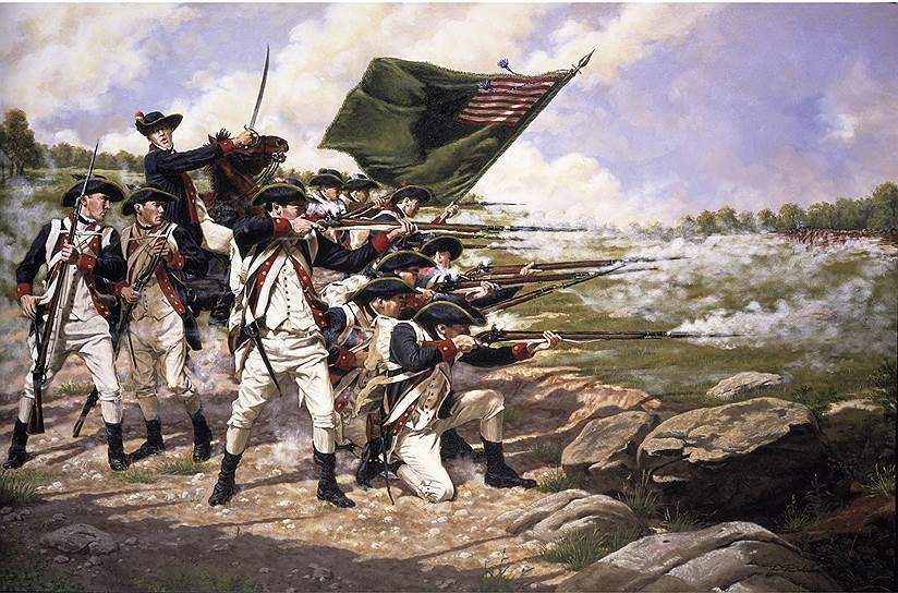 1776 год. Английские войска оккупировали Нью-Йорк, едва не захватив американского командующего Джорджа Вашингтона