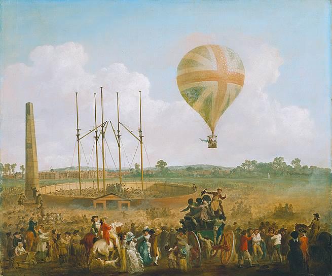 1784 год. В Лондоне Винченцо Лунарди совершил первый в Англии полет на воздушном шаре