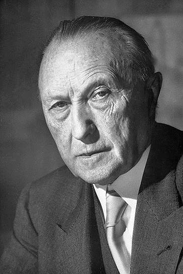 1949 год. Конрад Аденауэр стал первым канцлером ФРГ