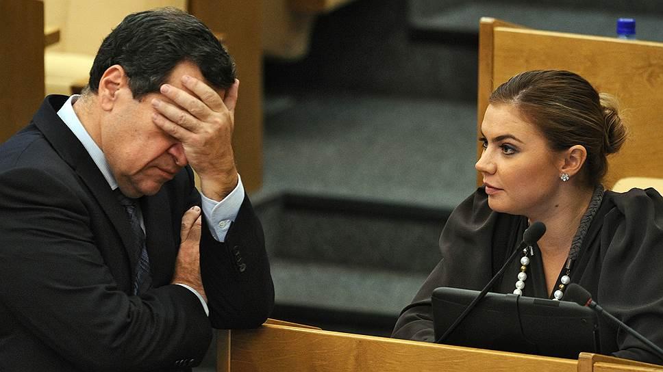 Алина Кабаева уходит из депутатов