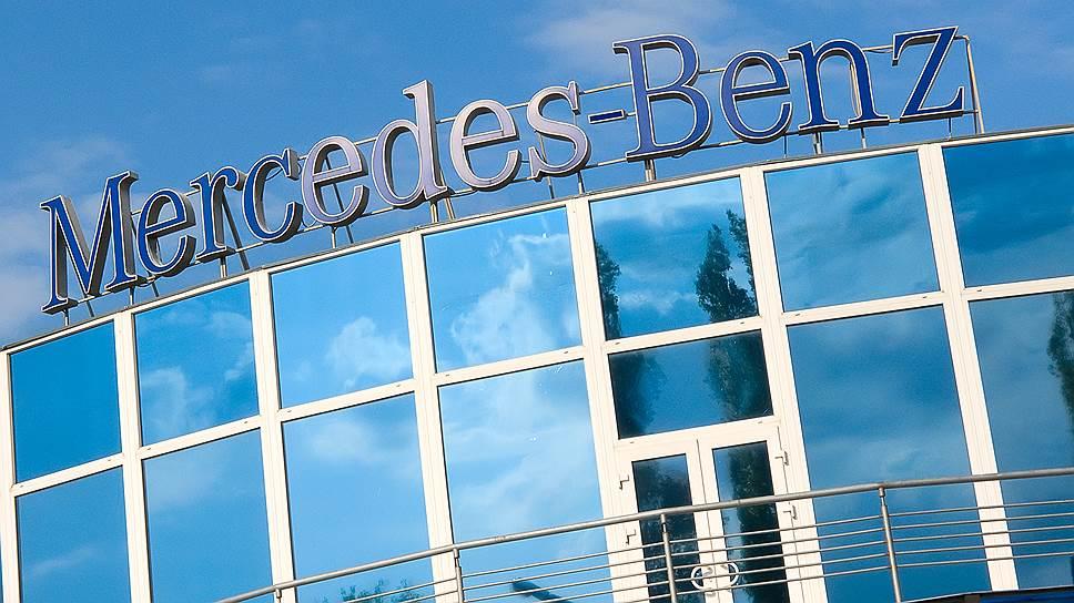 Сколько авто продал Mercedes-Benz в Европе