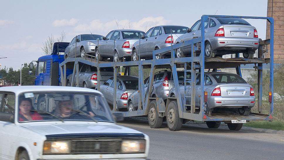 Автопарк России вырос на 5%