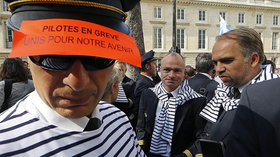 Почему бастовали пилоты Air France