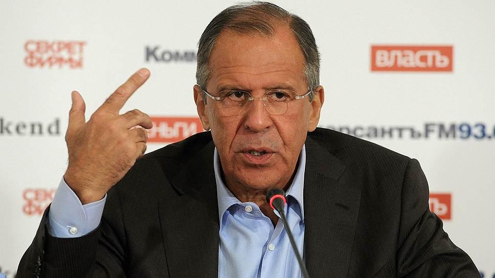 Сергей Лавров назвал Украину жертвой политики Запада