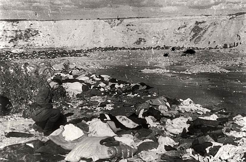 По разным подсчетам, в Бабьем Яре в 1941—1943 было расстреляно от 70 до 200 тыс. человек. В 1943 году нацисты, пытаясь замести следы преступлений, отправляли пленных евреев сжигать захороненные в Яре тела