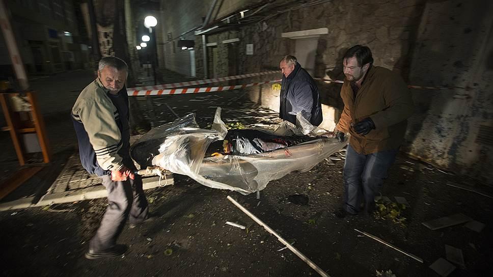 Как в Донецке погиб сотрудник Красного Креста