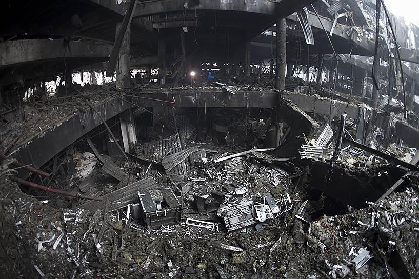 22 января 2015 года. В ходе ожесточенных боев украинские военные оставили донецкий аэропорт