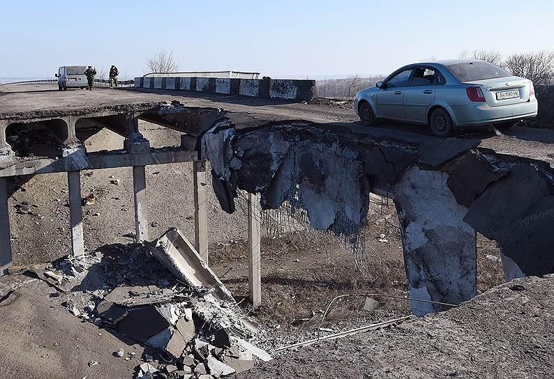 Дебальцево после отхода украинских военных