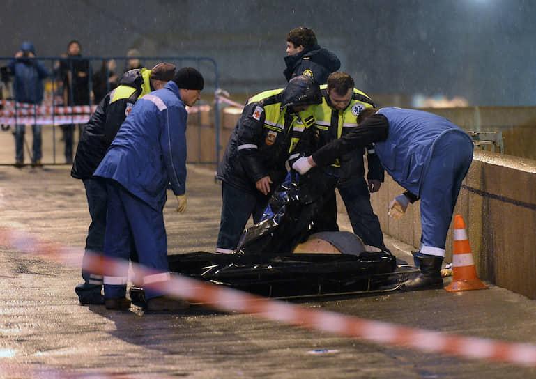 Борис Немцов был застрелен в центре Москвы 27 февраля 2015 года на Большом Москворецком мосту