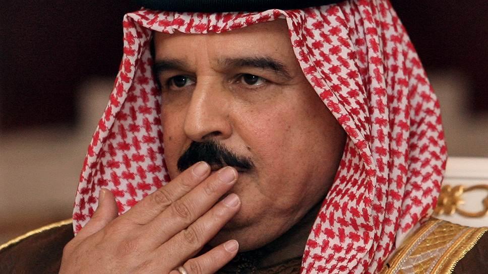 Король Бахрейна Хамад бен Иса аль-Халифа