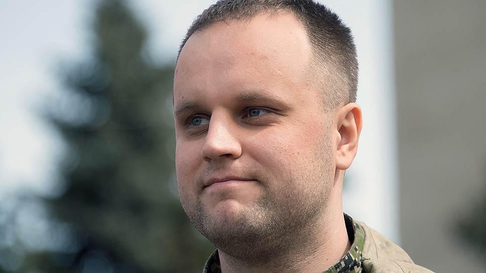 Лидер «Новороссии» Павел Губарев