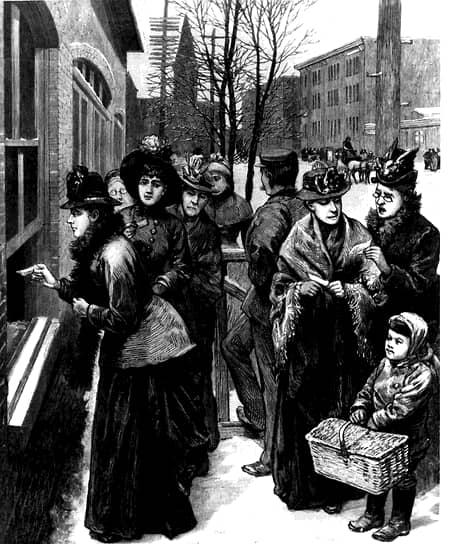 Во второй половине XIX века было сформировано несколько групп, которые лоббировали интересы женщин в английском парламенте. В 1897 году 17 организаций объединились в Национальный союз женских обществ. Союз организовывал встречи, направлял письма политикам и публиковал различные материалы