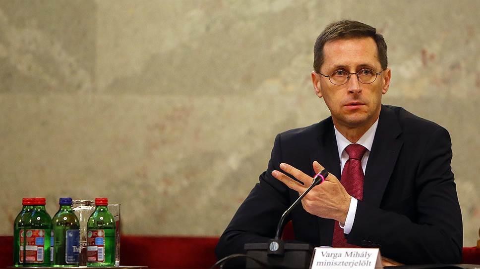 Министр экономики Венгрии Михай Варга