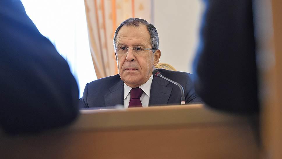 Сергей Лавров: «Мы не просим снять санкции»