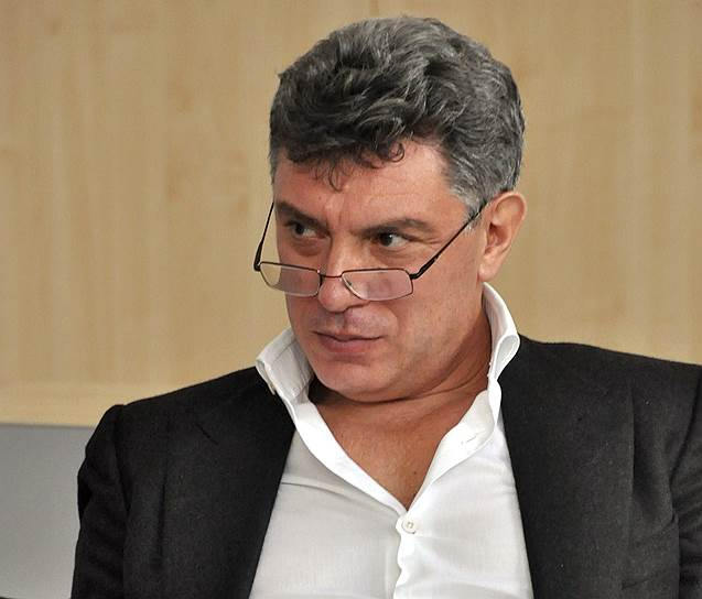 Сопредседатель РПР—ПАРНАС Борис Немцов