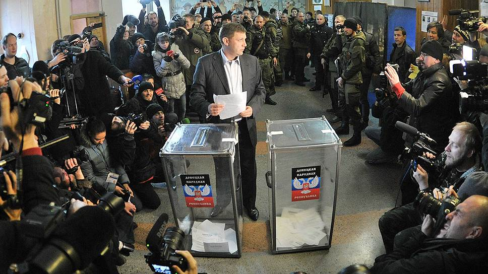 «В основном голосуют за Захарченко»