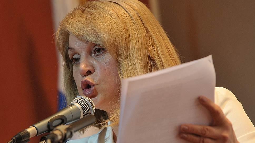 Как Элла Памфилова постояла за «Мемориал»