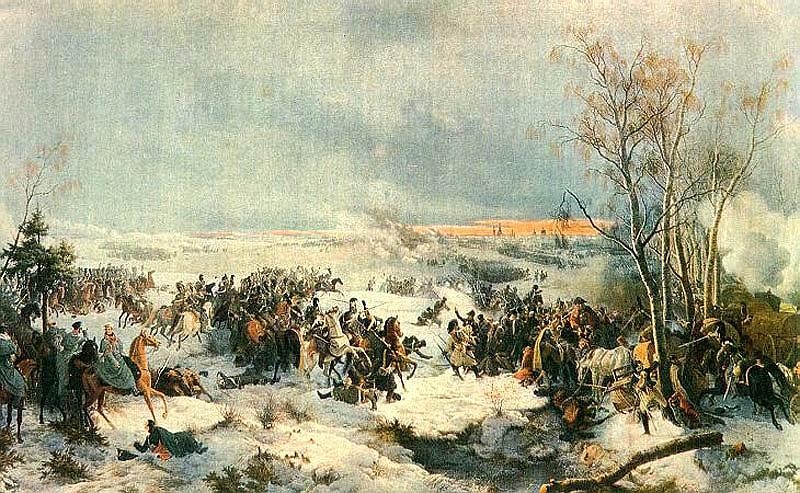 1812 год. В ходе Отечественной войны произошло сражение под Красным Смоленской губернии. За четыре дня боевых действий французы понесли тяжелые потери, однако избежали полного разгрома