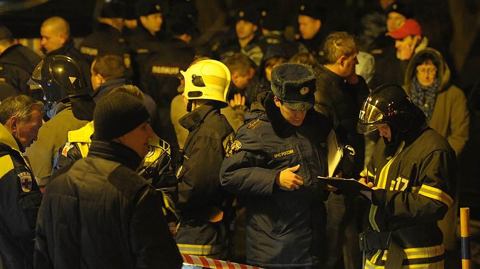 В Москве из-за взрывов бытового газа пострадали три человека