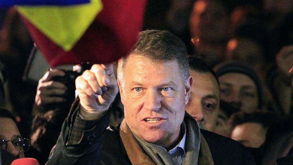 Победитель президентских выборов в Румынии Клаус Йоханнис