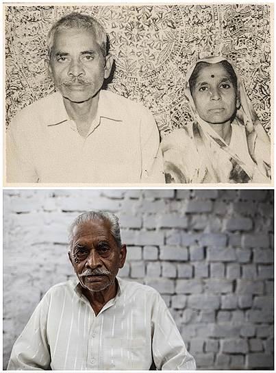 На фото сверху Рэм Чадра и его жена Према. Она умерла от химического отравления после трагедии в Бхопале