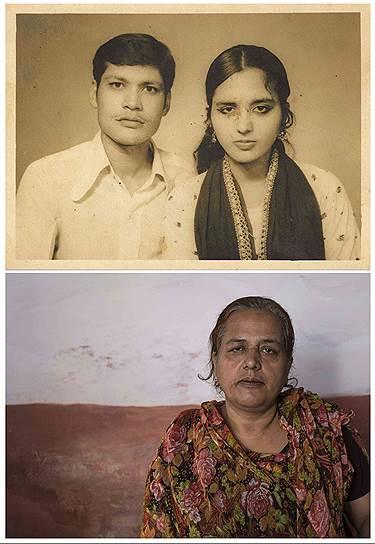 На фото сверху Зубейда и Салим Рехман. Он умер от химического отравления после трагедии в Бхопале