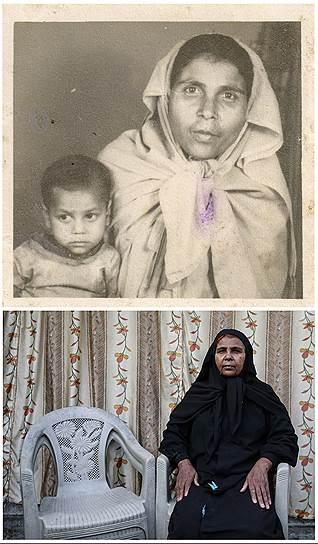 На фото сверху Бхори Би со своей дочерью Чандни. Чандни умерла от химического отравления после трагедии в Бхопале