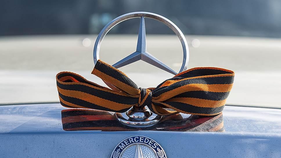 Mercedes подкатывает к России