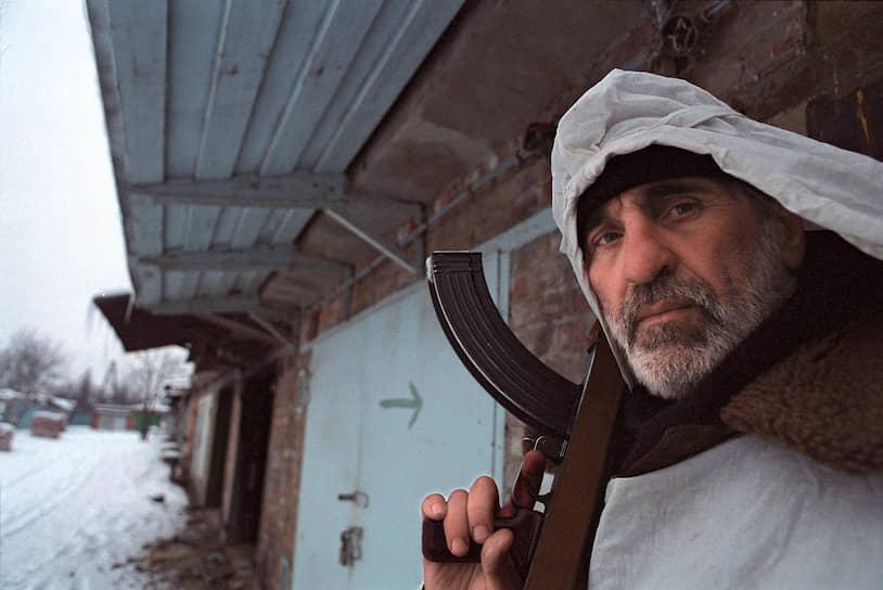 1995 год. Участник чеченских бандформирований во время боев в Грозном