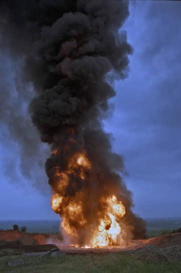 1996 год. Взрыв на одном из участков газопровода