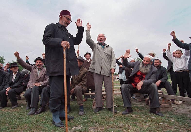 1996 год. Собрание старейшин