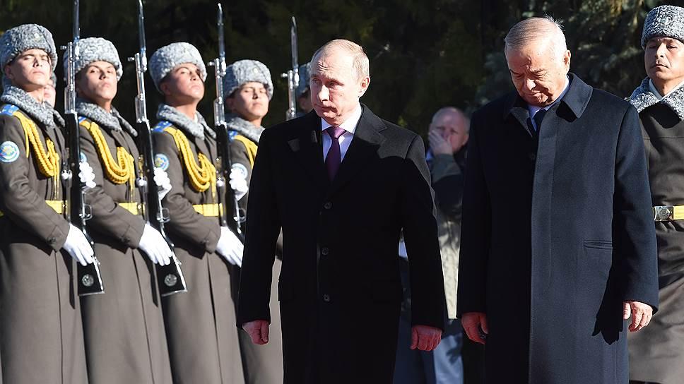 Зачем Россия списала долг Узбекистану