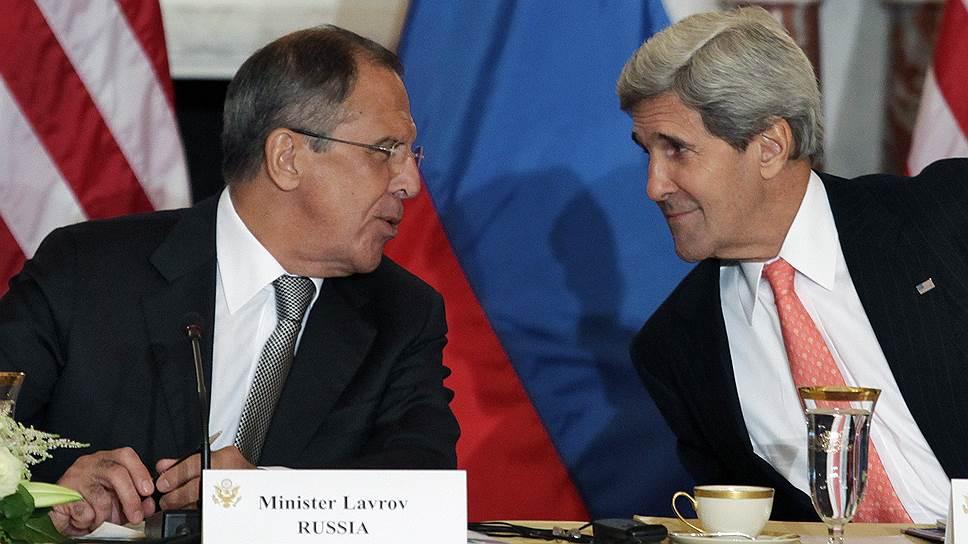 Как Сергей Лавров предупредил Джона Керри о проблемах взаимодействия