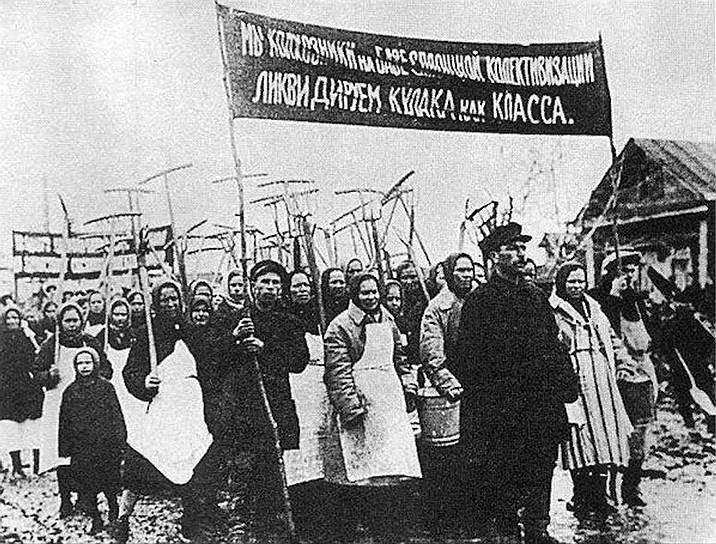 Массовые ссылки привели к недовольству в среде крестьянства и многочисленным бунтам, которые часто подавлялись с применением оружия. В целом в течение 1930 года около 2,5 млн человек выступили против коллективизации