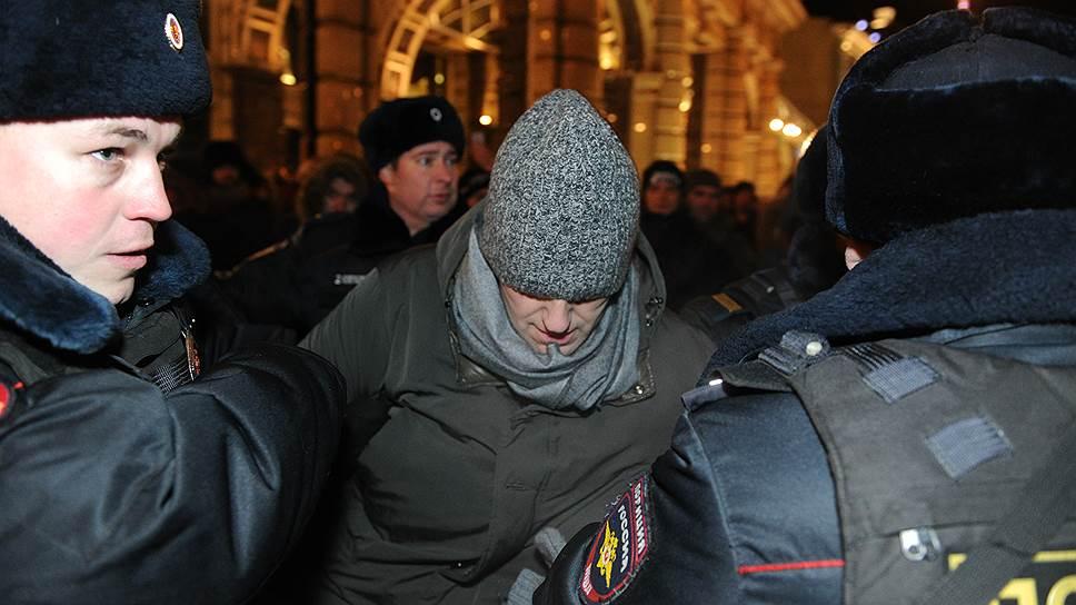 Как проходил «народный сход» в центре Москвы