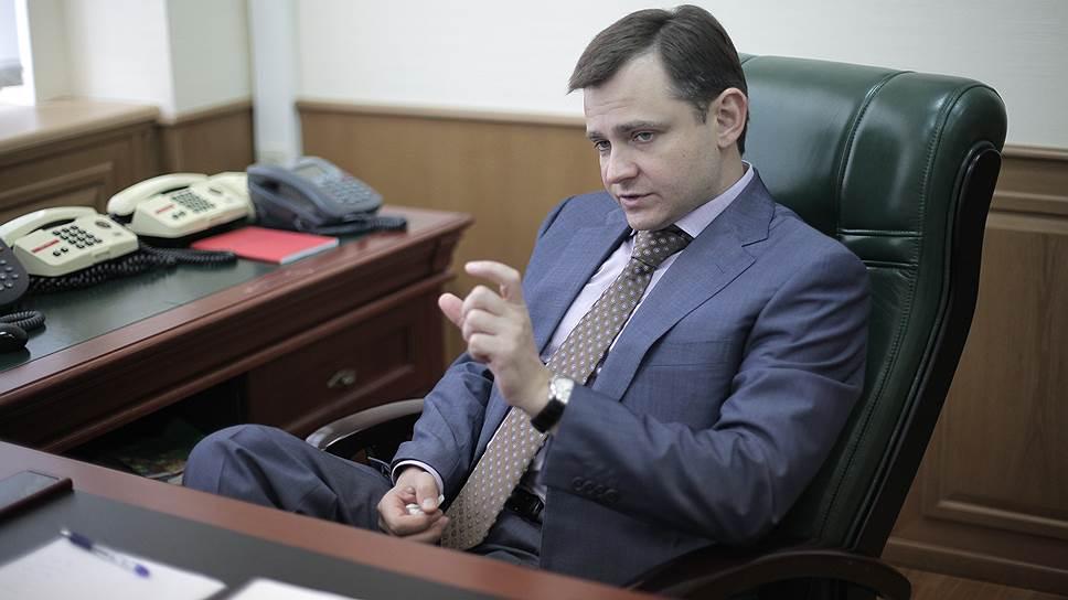 Заместитель министра промышленности и торговли России Юрий Слюсарь