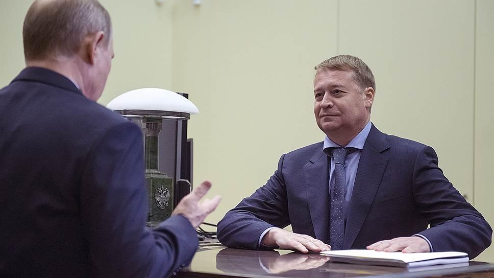 Как Леонид Маркелов получил благословление на новый срок