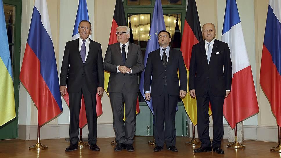 Как проходят переговоры по урегулированию конфликта на Украине